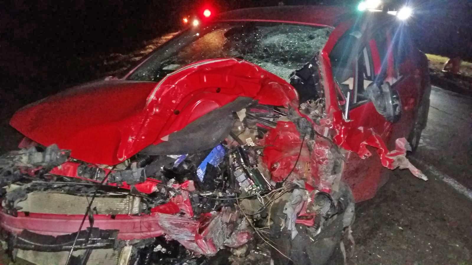 В Тамбовском районе водителя ослепил свет фар и он врезался в иномарку: погиб молодой человек