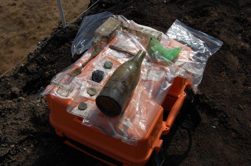 В центре Тамбова на месте снесённых домов проводят археологические раскопки
