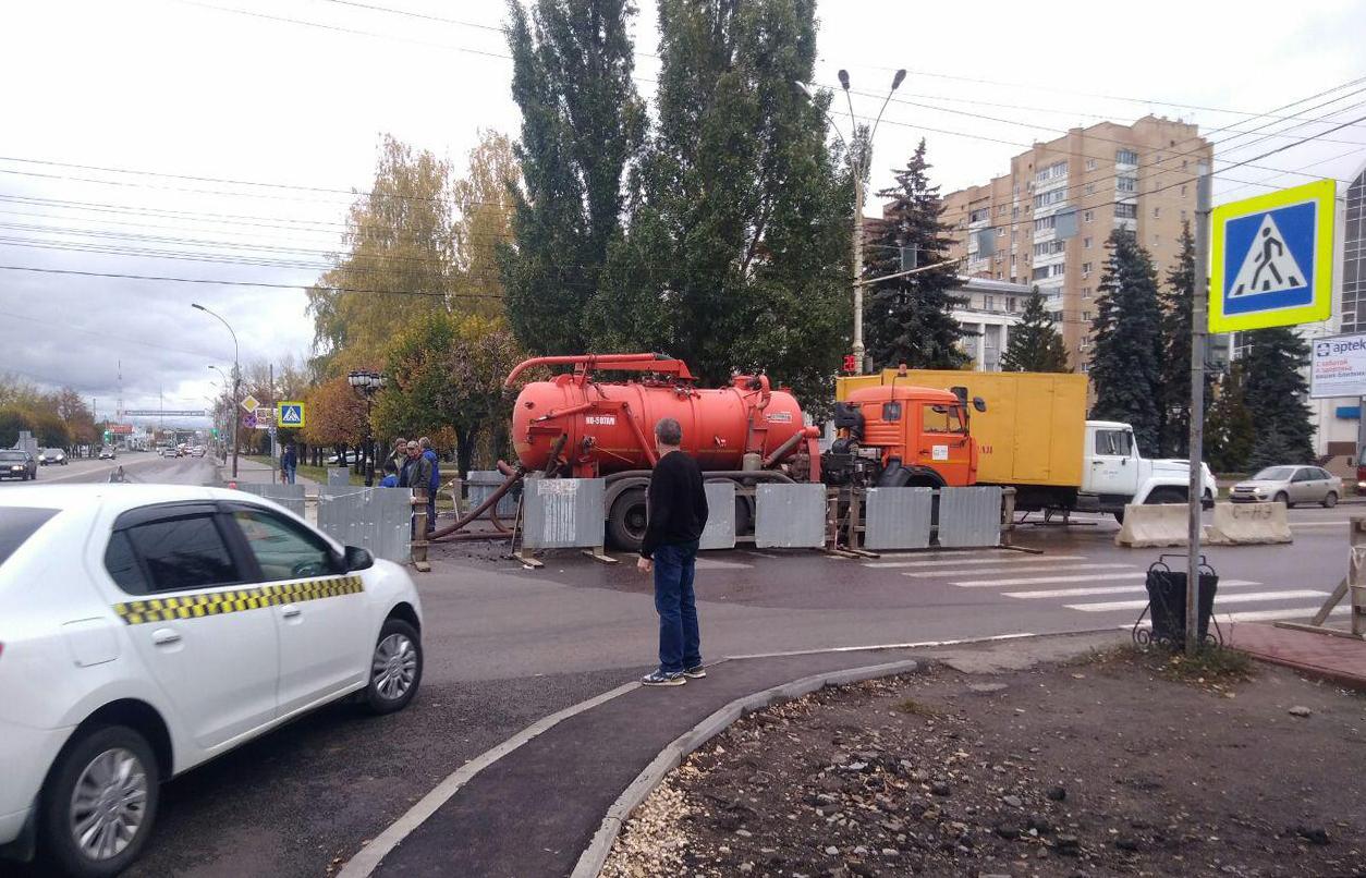 В центре Тамбова ограничили подачу холодной воды на время ремонта
