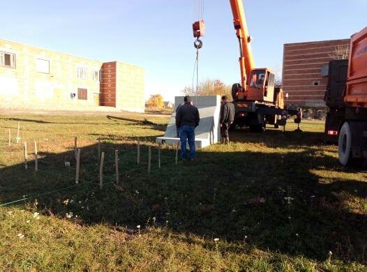 В Уваровском районе приступили к строительству мемориального комплекса