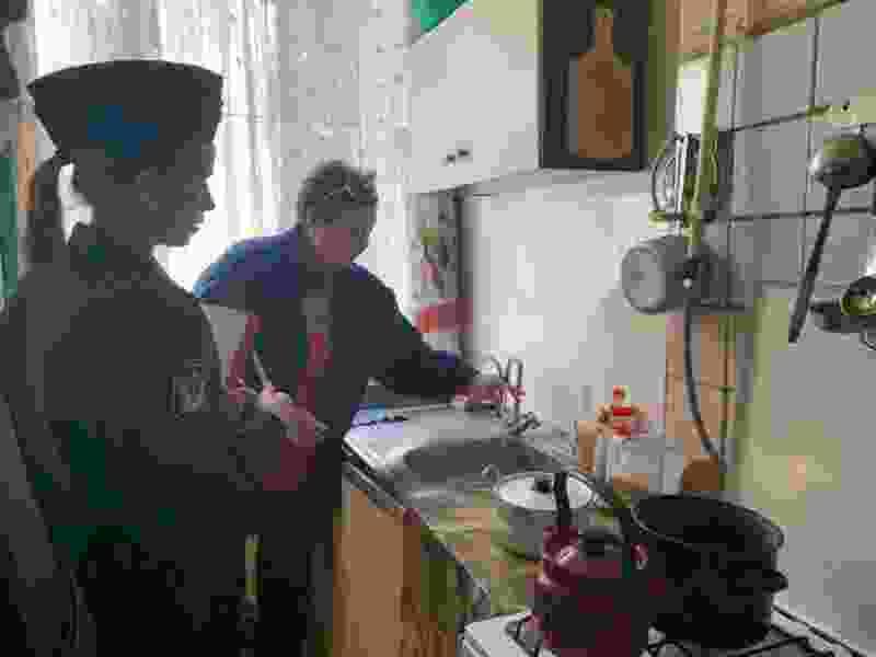 Жители дома номер 12 по улице Чичканова в Тамбове наконец-то вернули себе горячую воду