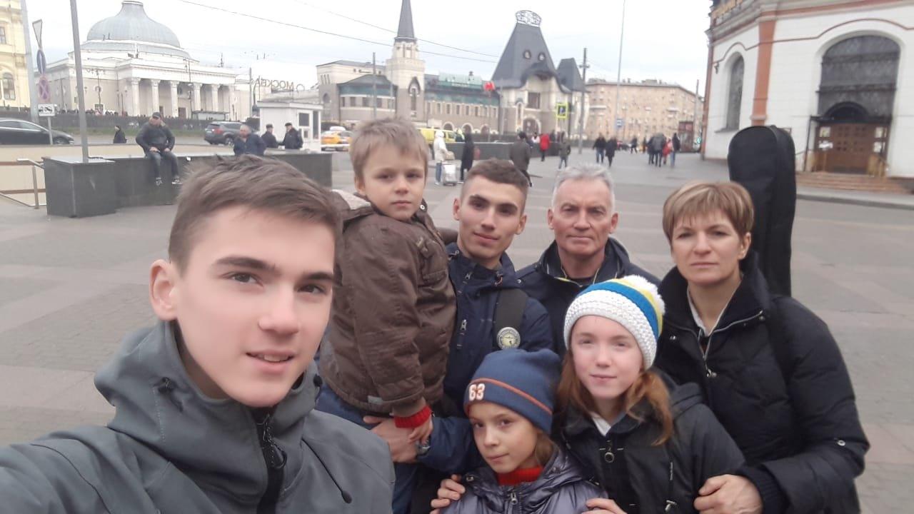 Многодетную семью из Моршанска наградили в Кремлёвском дворце