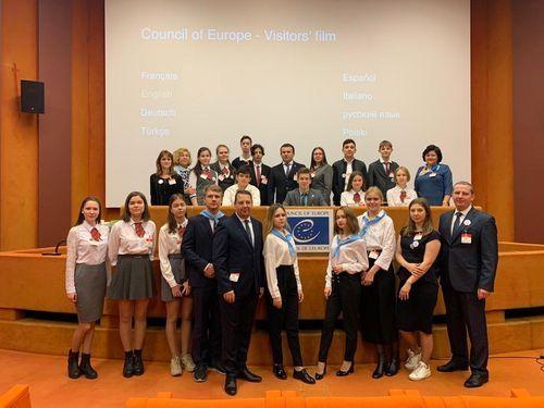 Молодёжный форум «Юные голоса – я делегат своей страны».