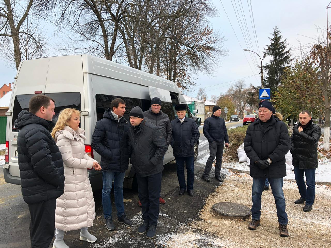 Наталия Макаревич совершила объезд нескольких улиц Тамбова
