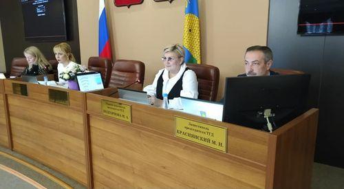 Об итогах 64–го очередного заседания Тамбовской городской Думы Тамбовской области