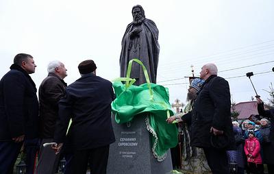 Памятник Серафиму Саровскому открыли вМичуринске Тамбовской области