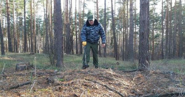 Поисковики обнаружили подТамбовом части бомбардировщика времён Великой Отечественной войны