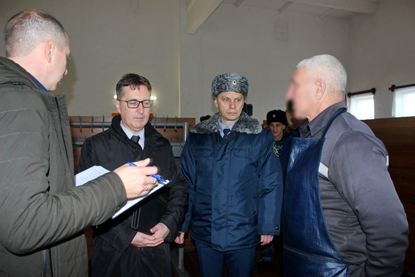 Представитель Генпрокуратуры побывал в исправительном учреждении в Кирсановском районе