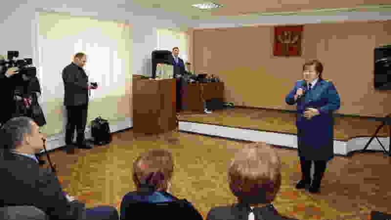 Прокурор Мичуринска Елена Шевчук покинула должность по собственному желанию и собралась на пенсию