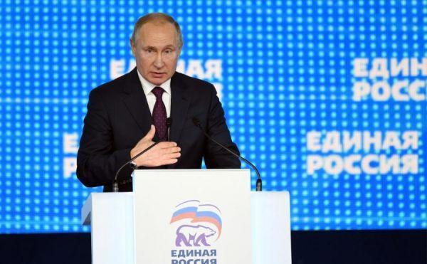 """Путин призвал ЕР """"терзать и трясти"""" чиновников на местах"""