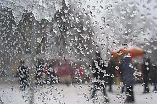 Синоптики обещают Тамбову мокрый снег и дожди