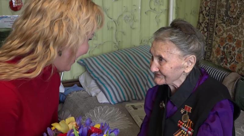 Столетняя тамбовчанка поделилась секретом долголетия