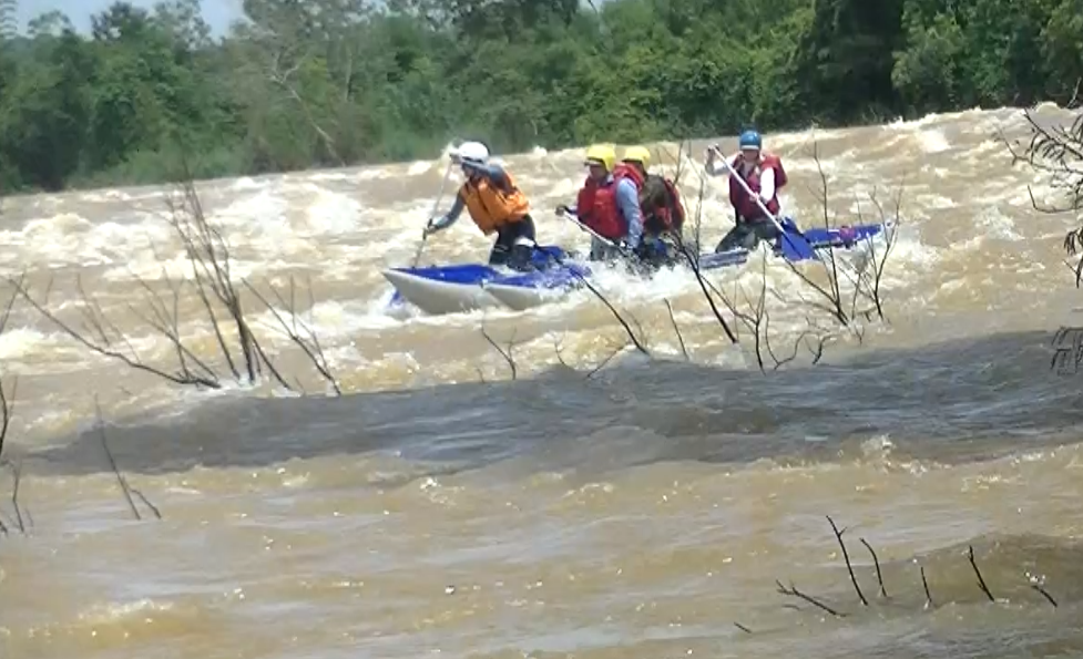Тамбовская сборная совершила первопрохождение двух рек во Вьетнаме
