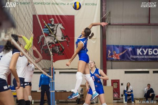 Тамбовские волейболисты вышли в полуфинал Кубка студенческой ассоциации