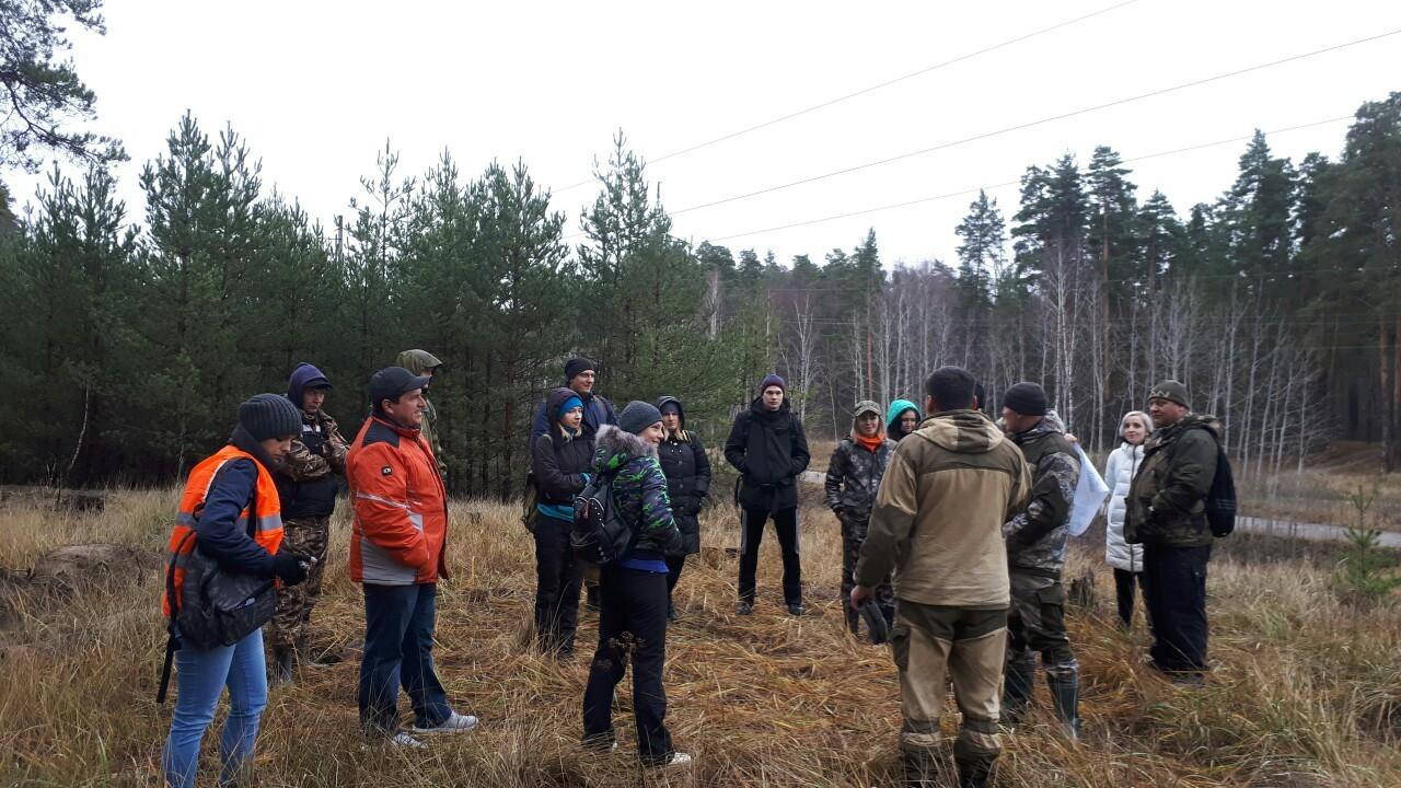 В ходе учений волонтёры нашли заблудившуюся в лесу супружескую пару