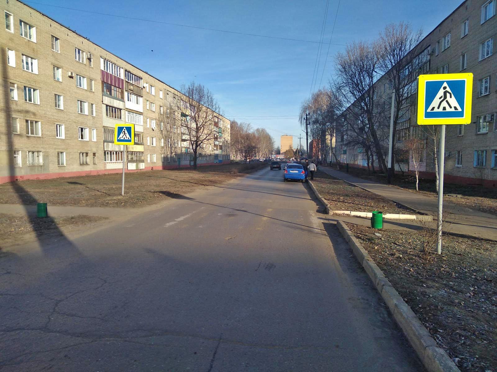 В посёлке Строитель водитель иномарки сбил женщину на пешеходном переходе