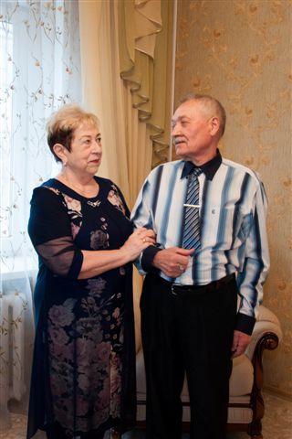 В Рассказово чествовали золотых юбиляров семейной жизни