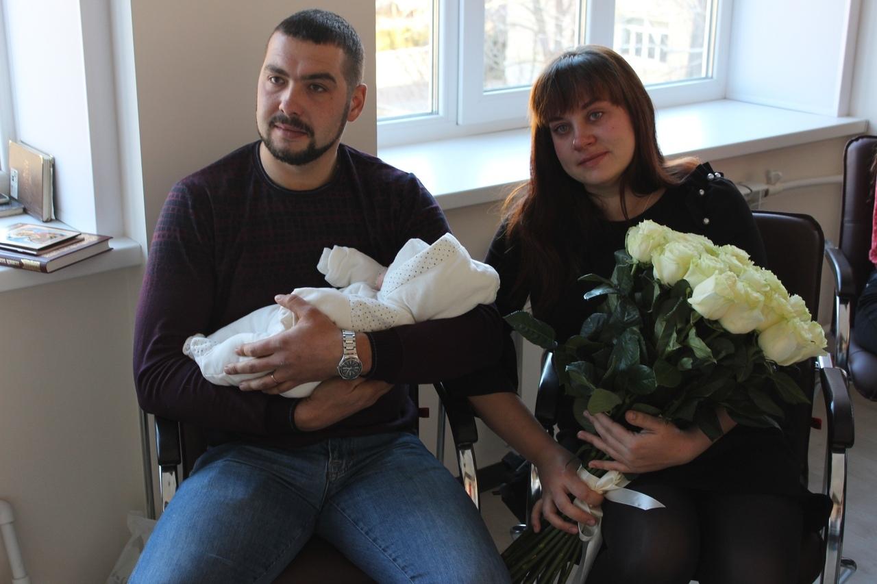 В роддоме № 2 Тамбова состоялась праздничная выписка малышей