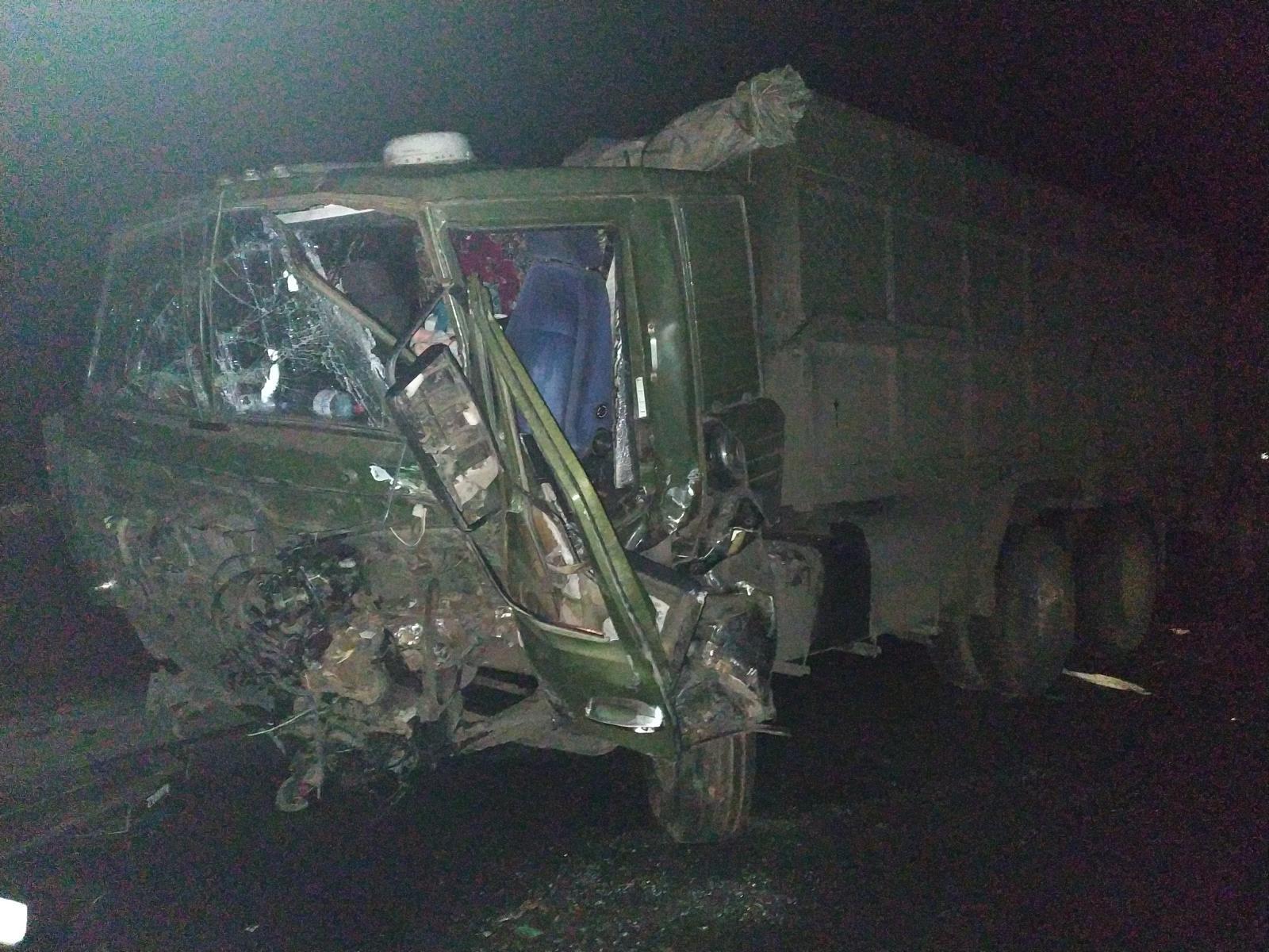 В Староюрьевском районе столкнулись два грузовика: есть пострадавший