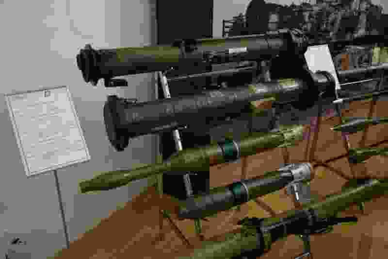 В Тамбове открылась выставка военной техники