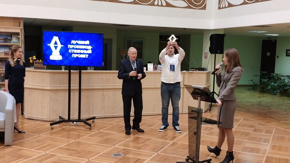 """В Тамбове предприниматели получили """"Золотые домкраты"""" от премии """"Бизнес-Успех"""""""