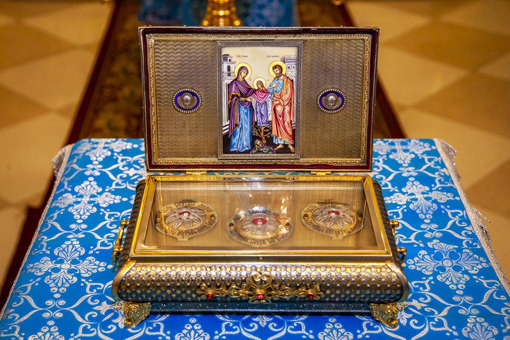 В Тамбове проводили ковчег с частицей пояса Пресвятой Богородицы