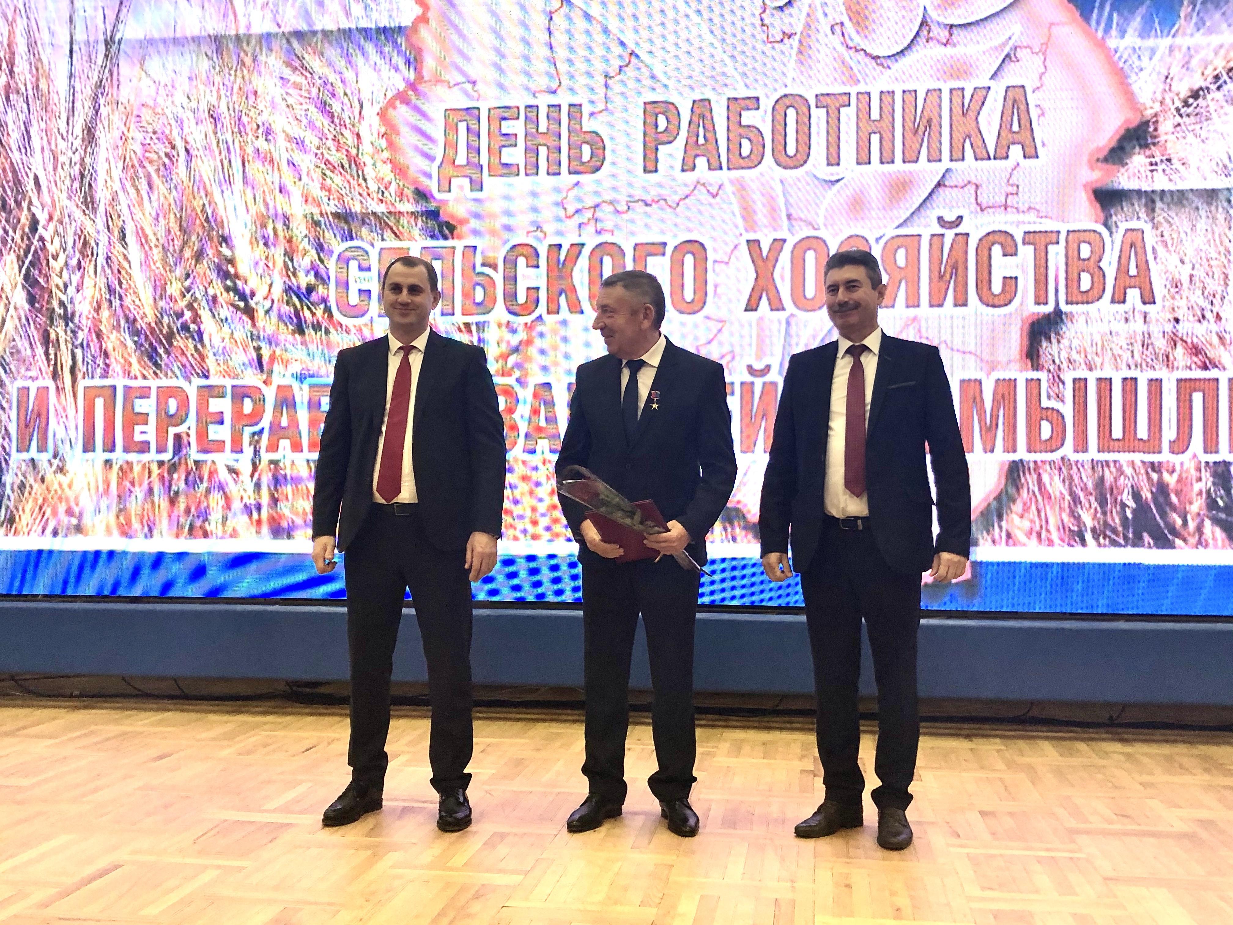 В Тамбовской области наградили передовиков сельхозпроизводства