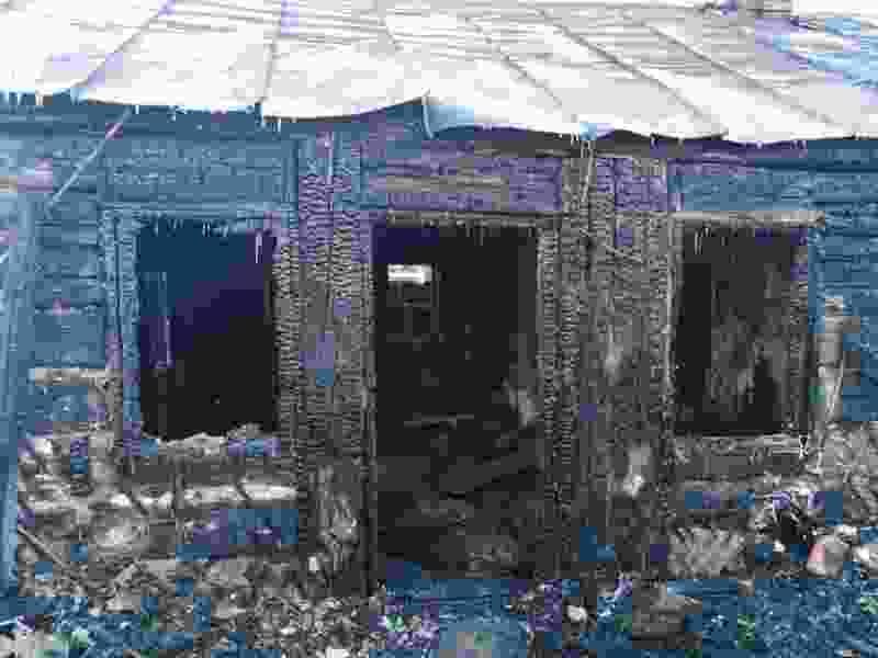 В Тамбовской области при пожаре в своём доме погиб психически больной мужчина