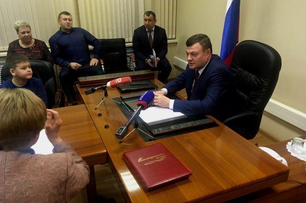 Александр Никитин провел личный прием граждан