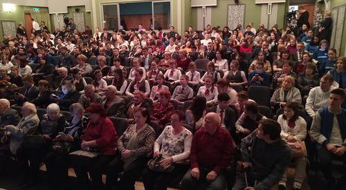 Будущее начинается сегодня! Тамбовские школьники, участники международного форума в Страсбурге, выступили с отчетным концертом