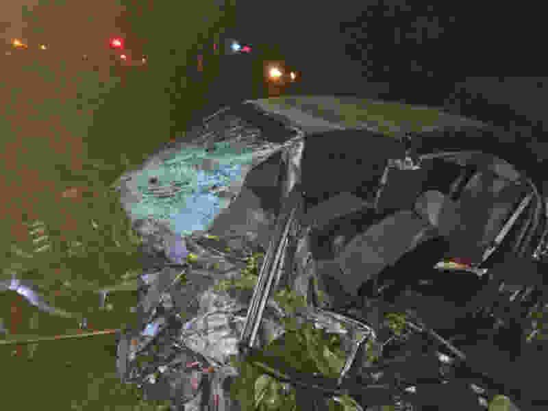 На трассе в Тамбовской области в ДТП с участием трёх машин погибло двое человек