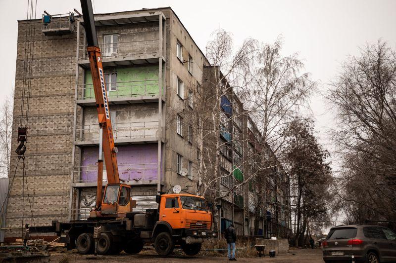 Под Тамбовом в доме, где рухнули пять балконов, восстановительные работы завершат до конца декабря