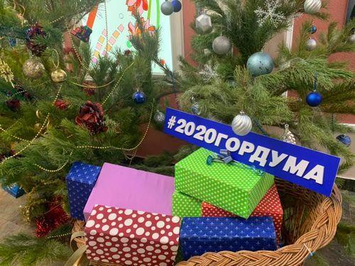 Сказка в подарок! Депутаты Тамбовской городской Думы поздравили маленьких тамбовчан с Новым годом!