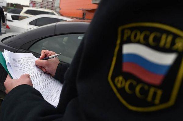"""У должника в Тамбовской области за долги арестовали """"Nissan Almera"""""""