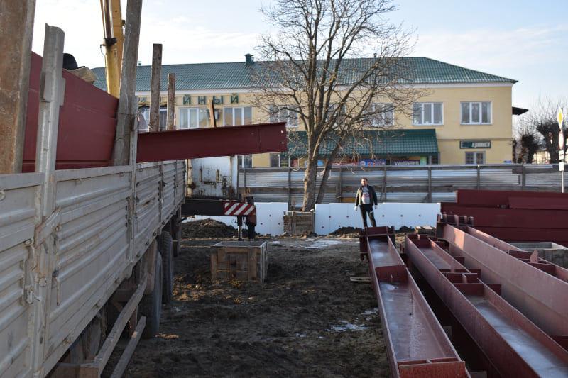 В Моршанске началось строительство нового ТРЦ
