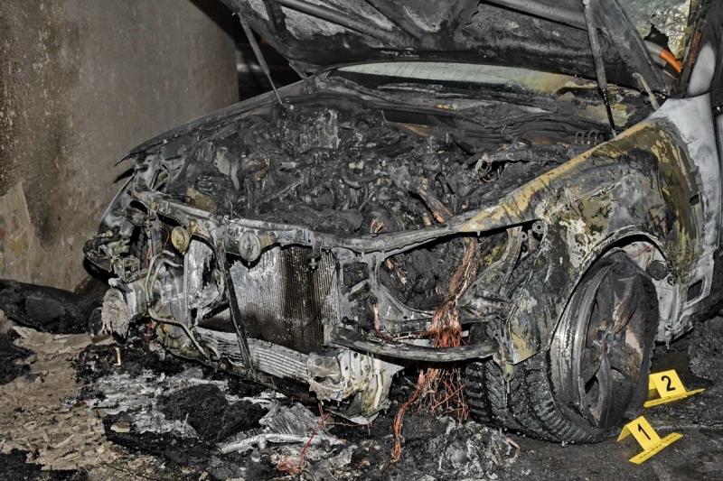 В Тамбове банда из Липецкой области сожгла Lexus