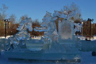 Выставка ледяных скульптур вТамбове переносится из-запогоды