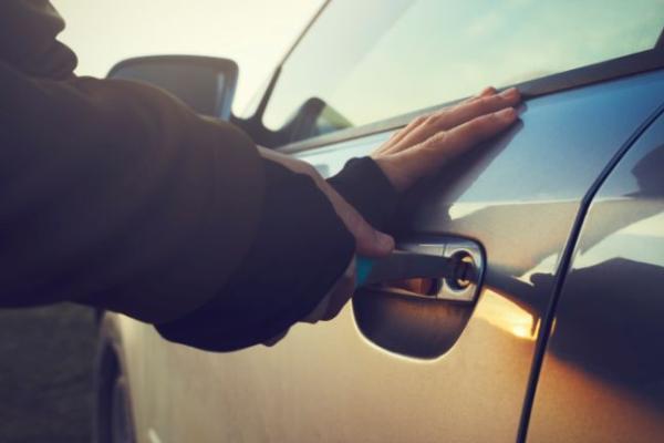 21-летний тамбовчанин угнал машину с Моршанского шоссе
