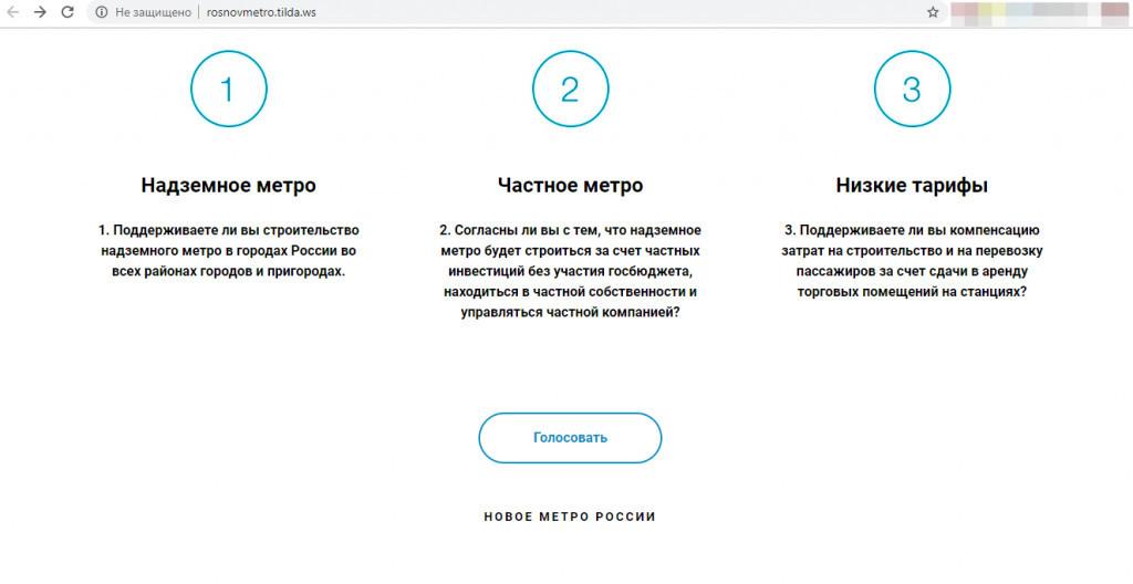 Бизнесмен из Петербурга предложил построить в Тамбове надземное частное метро