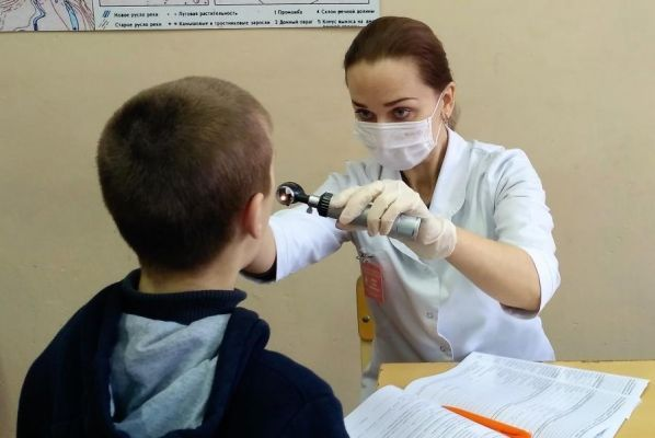 В детской областной больнице началась диспансеризация детей-сирот