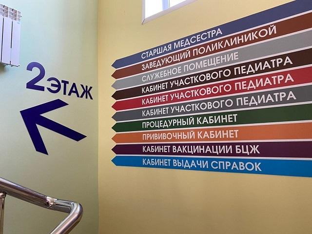 В Котовске обновленная детская поликлиника приняла первых пациентов