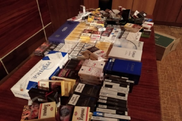 В Мичуринске полицейские изъяли около 400 пачек сигарет с признаками контрафакта