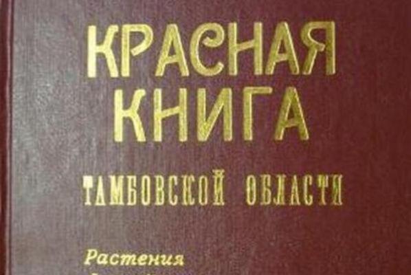 В регионе переиздана Красная книга Тамбовской области