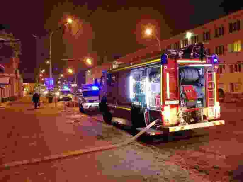 В Тамбове на улице Советской произошёл пожар в заброшенном доме: пострадал обитающий там бомж