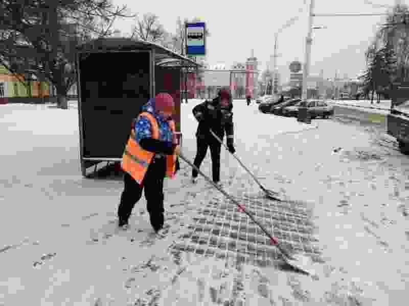 В Тамбове ожидается сильное ухудшение погоды. Городские службы продолжают бороться с последствиями снегопада