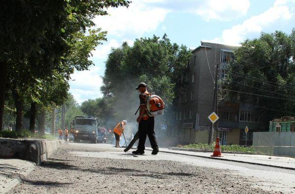 В Тамбове составили необычный рейтинг отремонтированных дорог