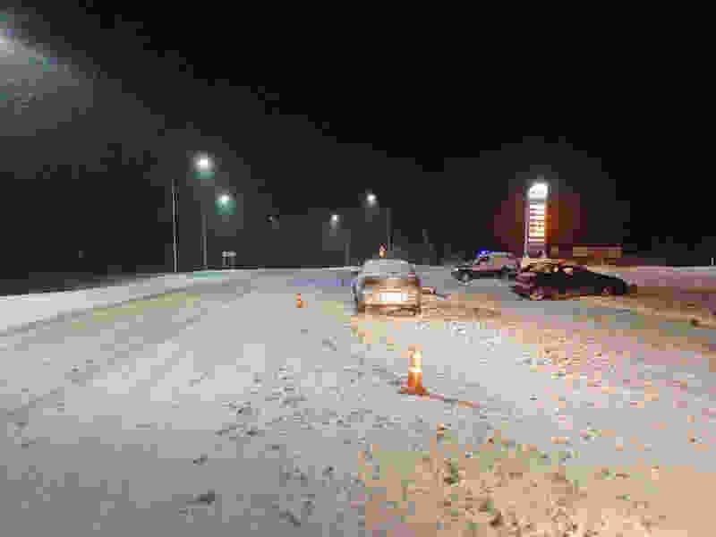 В Тамбовской области при столкновении двух иномарок пострадал водитель