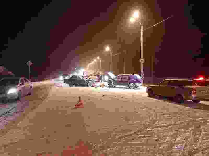 В Тамбовском районе «семёрка» врезалась в «Рено»: погиб водитель отечественного автомобиля