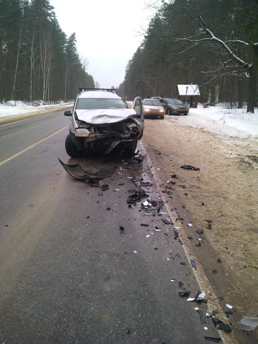 В Тамбовском районе за новогодние праздники в ДТП пострадали двое детей