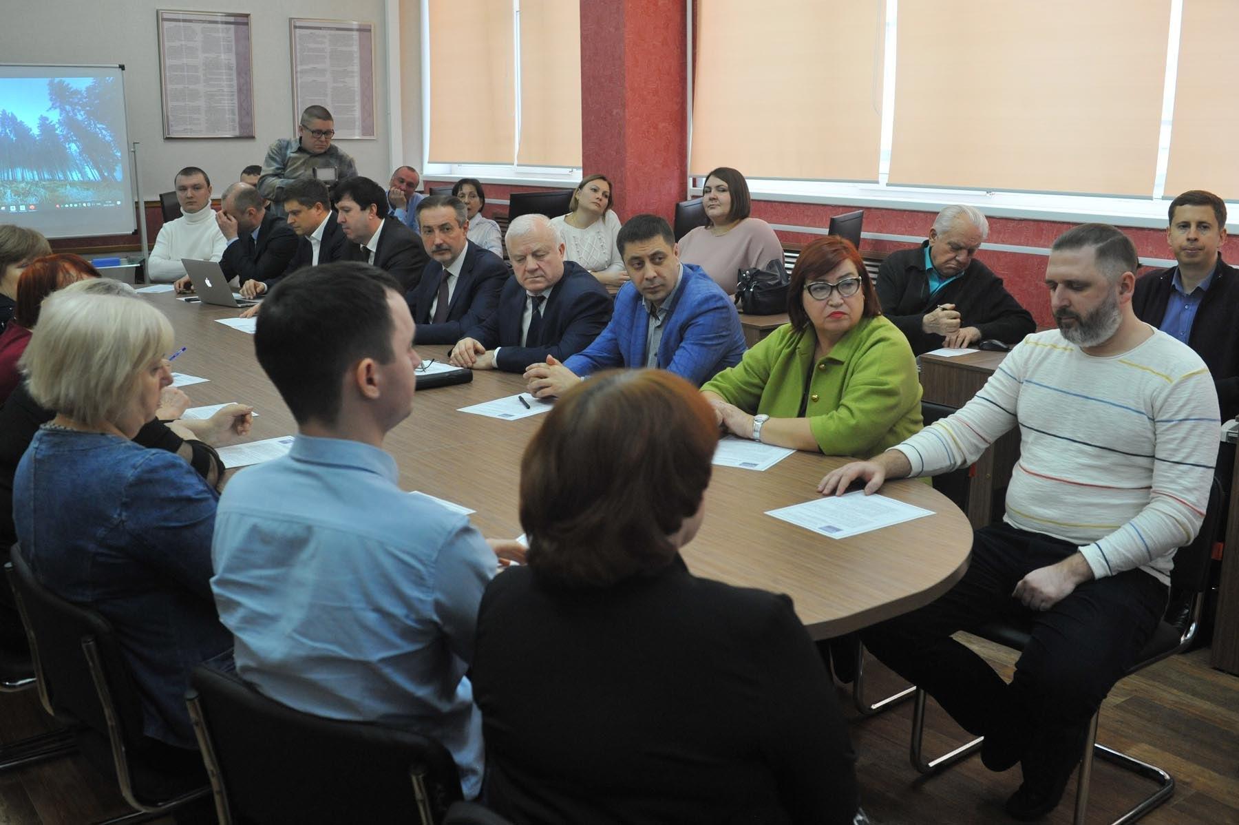 В ТГТУ прошел круглый стол о применении технологий информационного моделирования в строительной сфере
